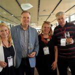 6DuFestiWIne 8 _otvorenje_ TGZ SLo direkorica KLAVDIJA Pergerdirektorica Tilda Bogdanovi imanovi eljko najbolje vino
